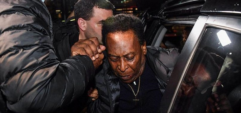 PELE RECOVERING WELL AFTER KIDNEY STONE OPERATION