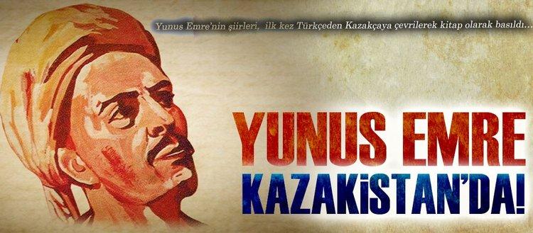 Yunus Emre Kazakistan'da