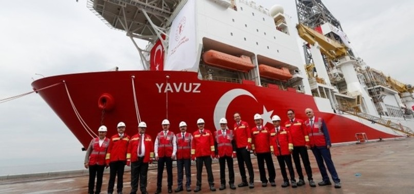 SECOND TURKISH DRILLSHIP YAVUZ TO START DRILLING OFF CYPRUS IN A WEEK, MINISTER SAYS