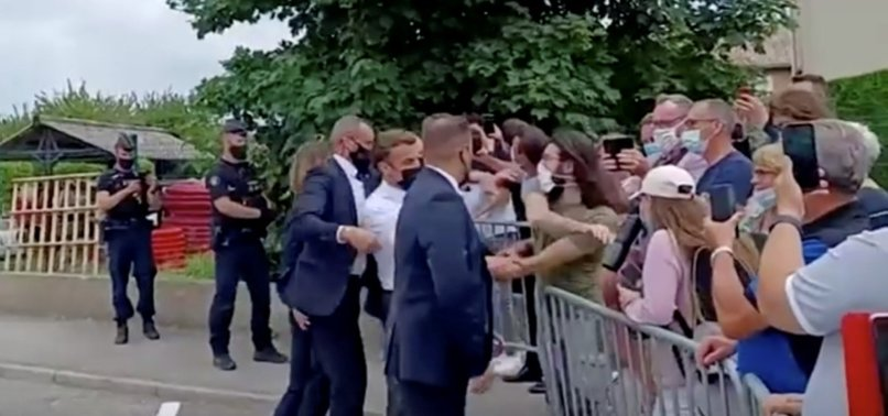 MAN WHO SLAPPED MACRON TELLS COURT THE PRESIDENT EMBODIED FRANCES DECAY