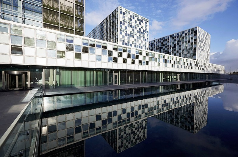 This picture dated Nov. 23, 2015 shows the new home of the International Criminal Court (ICC) in The Hague, The Netherlands. (EPA Photo)