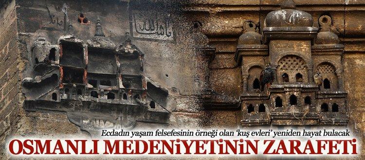 Osmanlı'dan bugüne kuş evleri