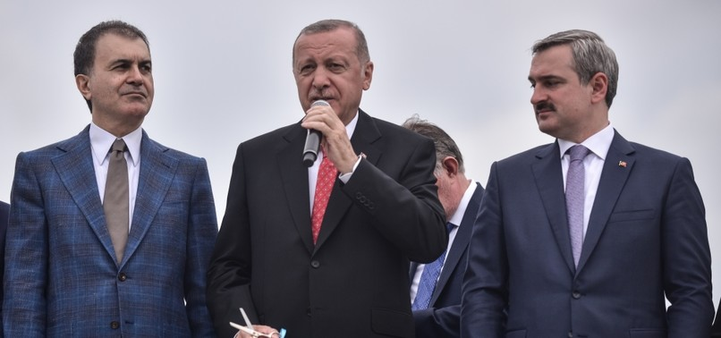 ERDOĞAN CRITICIZES FALSE STATEMENTS BY CHPS ISTANBUL MAYORAL CANDIDATE
