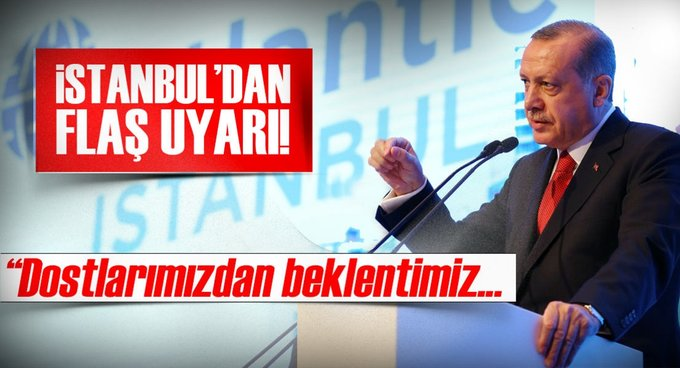 Cumhurbaşkanı Erdoğan, İstanbuldan uyardı: Riayet edin!