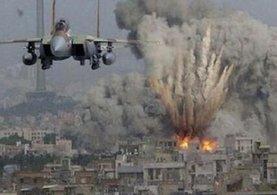 Suriye İdlib'de sığınmacı kampına hava saldırısı