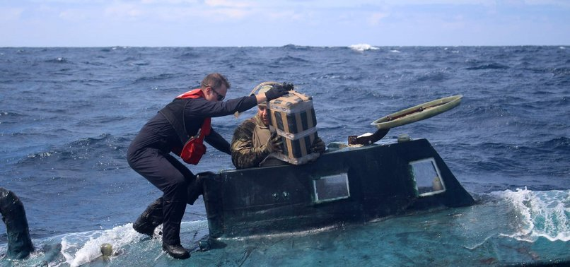 US COAST GUARD SEIZES 5 TONS OF COCAINE FROM SUBMARINE