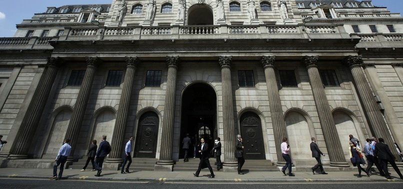 TWO SUSPICIOUS PACKAGES SENT TO BANK OF ENGLAND - POLICE