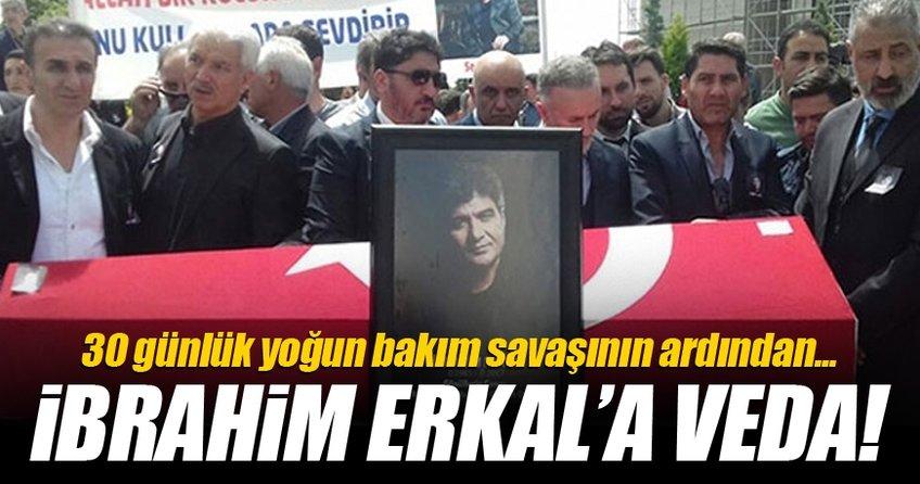 İbrahim Erkal'a veda!