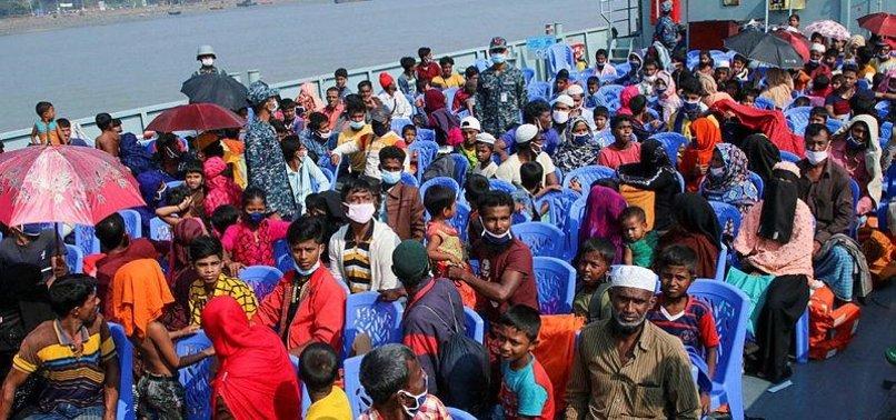 BANGLADESH STARTS ROHINGYA SHIFT TO ISLAND AMID CONCERNS
