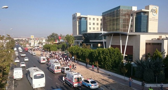 Explosion at commercial building in Turkey's Antalya