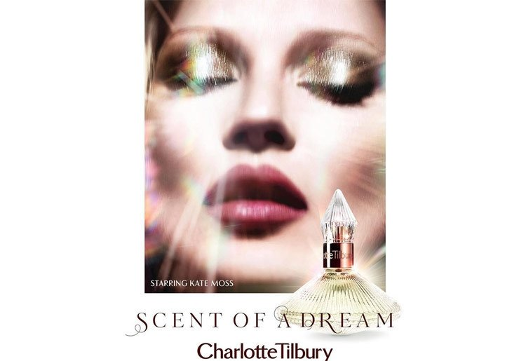 KATE MOSS SCENT OF A DREAM PARFÜM REKLAMINDA