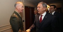 Turkish defense minister urges top US general to cut YPG ties
