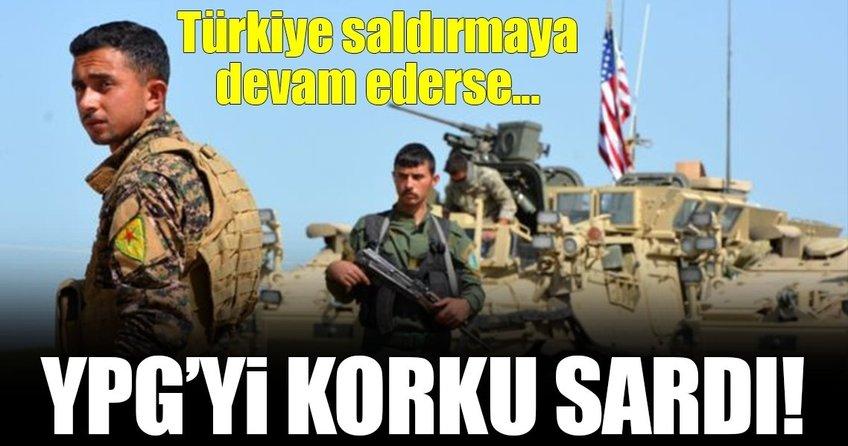 YPGyi Türkiye korkusu sardı!