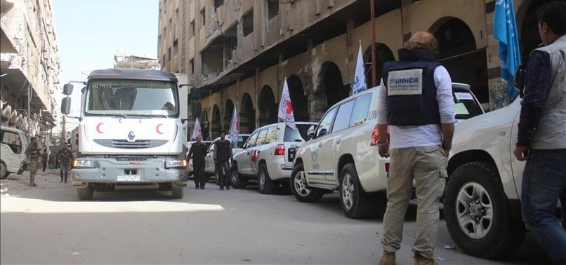 UN UNABLE TO RETURN TO EASTERN GHOUTA TO DELIVER AID