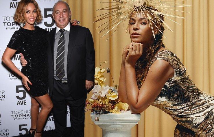 Topshop'un sahibi, milyarder işadamı Philip Green'e Beyonce'den kötü haber.