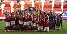 Aubameyang double leads Arsenal to 14th FA Cup triumph