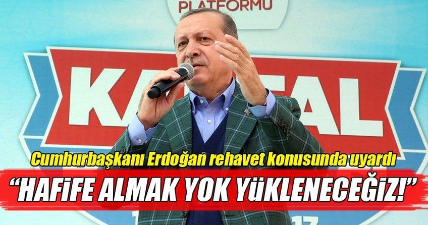 Cumhurbaşkanı Erdoğan İstanbul turunun ikinci durağı Kartal'da konuştu