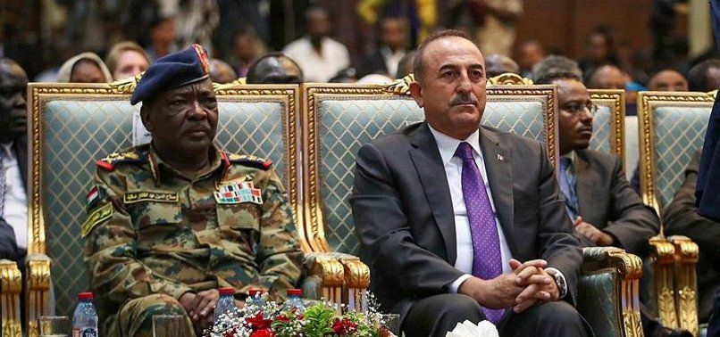 ÇAVUŞOĞLU SAYS TURKEYS SUPPORT TO SUDAN WILL CONTINUE TO GROW