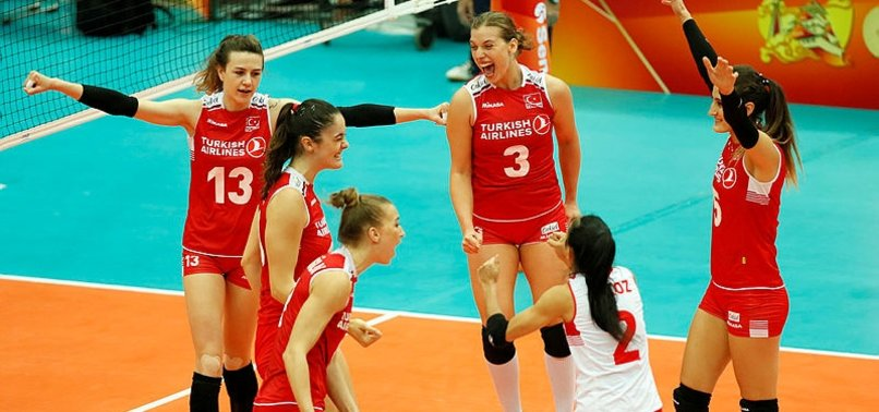 TURKEY BEAT THAILAND IN WOMENS VOLLEYBALL