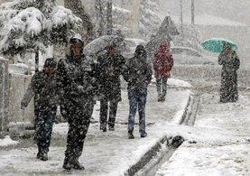 Meteoroloji'den uyarı: O bölgede yoğun kar yağışı bekleniyor...