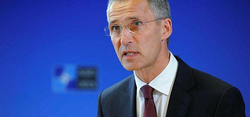 NATO CHIEF URGES COLLECTIVE DEFENSE IN EUROPE