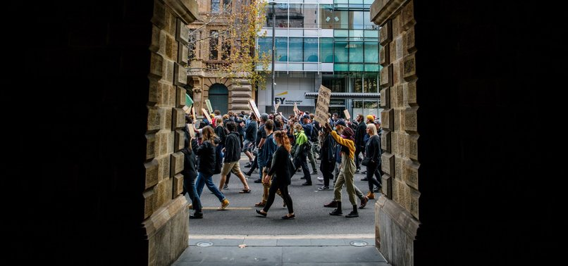 PEACEFUL BLACK LIVES MATTER PROTESTS IN AUSTRALIA