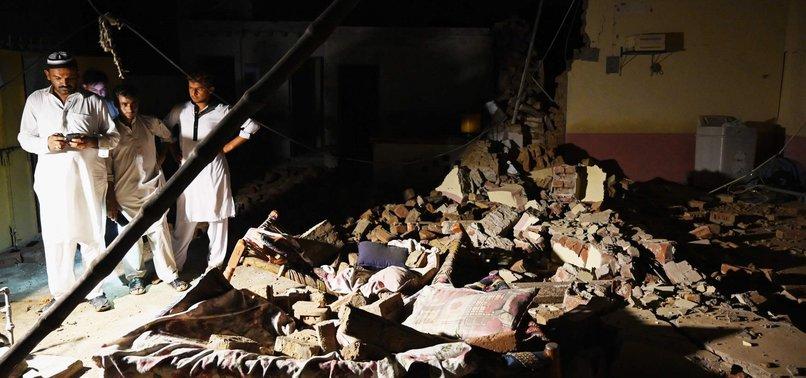 STRONG EARTHQUAKE JOLTS PAKISTAN, KILLS 22 AND INJURES 700