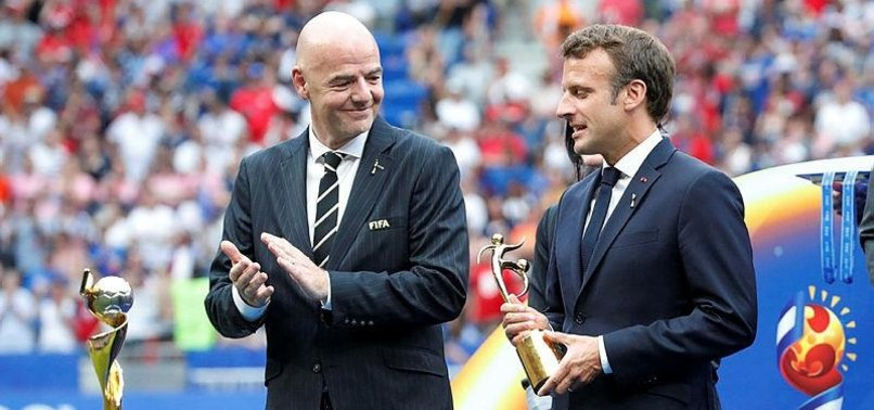 FIFA BOSS AND MACRON BOOED AT WORLD CUP FINAL CEREMONY
