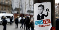 Macron says social media, TV 'a poison for democracy'