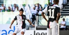 Ronaldo scores from free kick as Juventus beat Torino 4-1