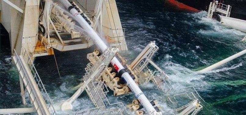 TURKSTREAM GAS PIPELINE TO HIT TURKEYS BLACK SEA SHORE IN MAY