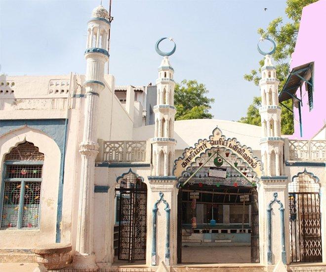 Kazimar Büyük Camii / Madurai, Hindistan