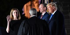Barrett confirmed as Supreme Court justice in partisan vote