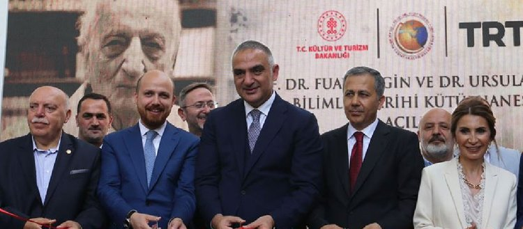 Prof. Dr. Fuat Sezgin ve Dr. Ursula Sezgin Bilimler Tarihi Kütüphanesi açıldı
