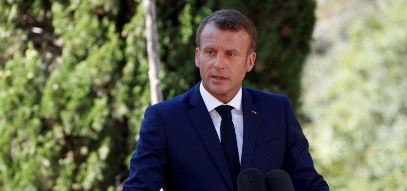FRANCES MACRON SAYS NO-DEAL BREXIT WOULD BE BRITAINS FAULT