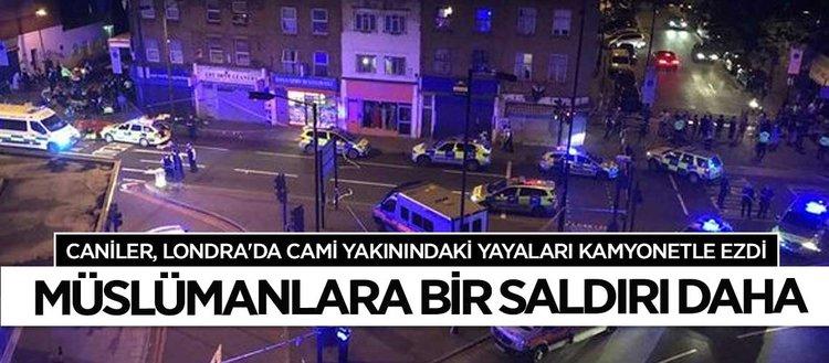 Londrada kamyonetle bir saldırı daha