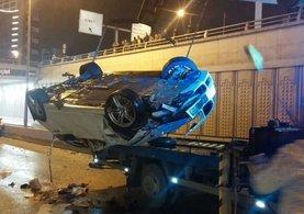 Ankara Akyurt İlçesi'nde feci kaza: 5 ölü, 1 yaralı