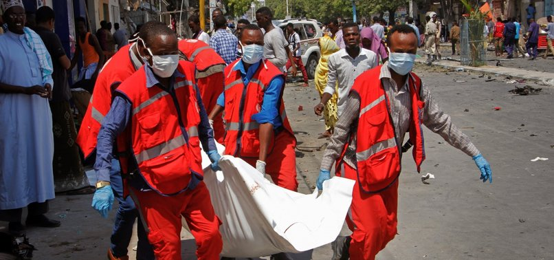 11 DEAD AFTER BLAST OUTSIDE RESTAURANT IN SOMALIAS CAPITAL