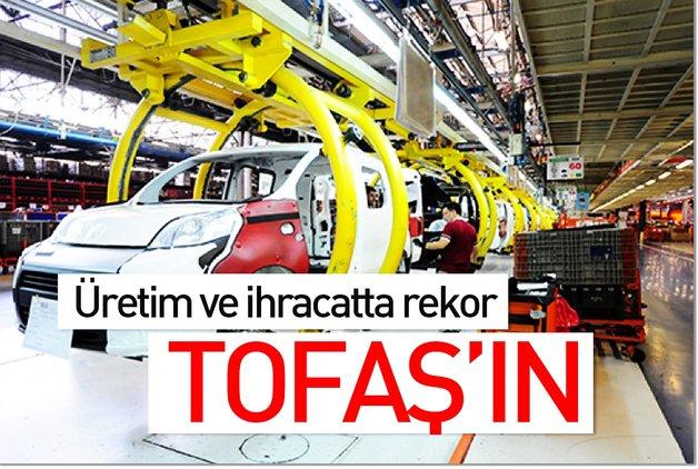 Üretim ve ihracatta rekor TOFAŞ'ın