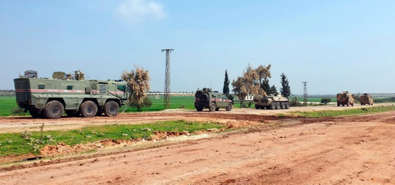 TURKEY, RUSSIA HOLD 19TH JOINT PATROL IN NORTHERN SYRIA