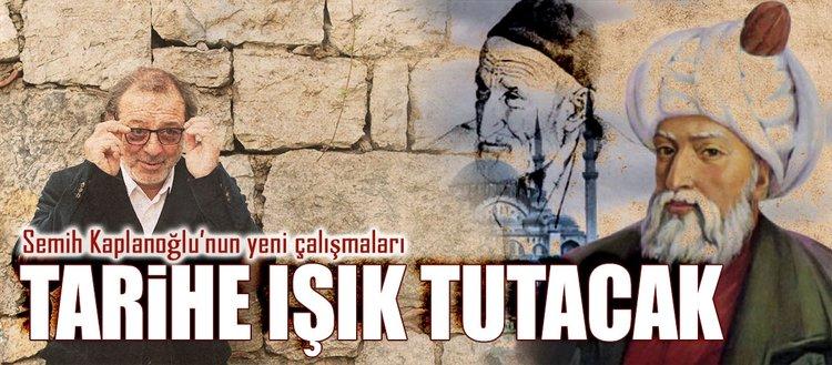 'Mimar Sinan ve Niyazi Mısri üzerinde çalışıyorum'