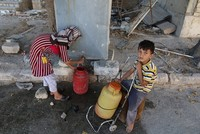 A U.N. official says nearly 2 million people in the northern Syrian city of Aleppo are without running water as security conditions deteriorate.  Hanaa Singer, UNICEF representative in Syria,...