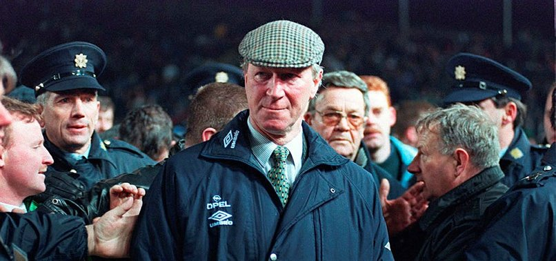 IRELAND MOURNS ITS MOST LOVED ENGLISHMAN JACK CHARLTON