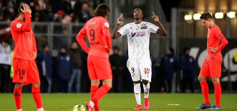 GOALS GALORE AS AMIENS, PSG GAME ENDS IN TIE