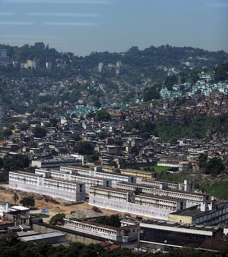 View on a prison in Rio de Janeiro, Brazil. File Photo. (AFP)