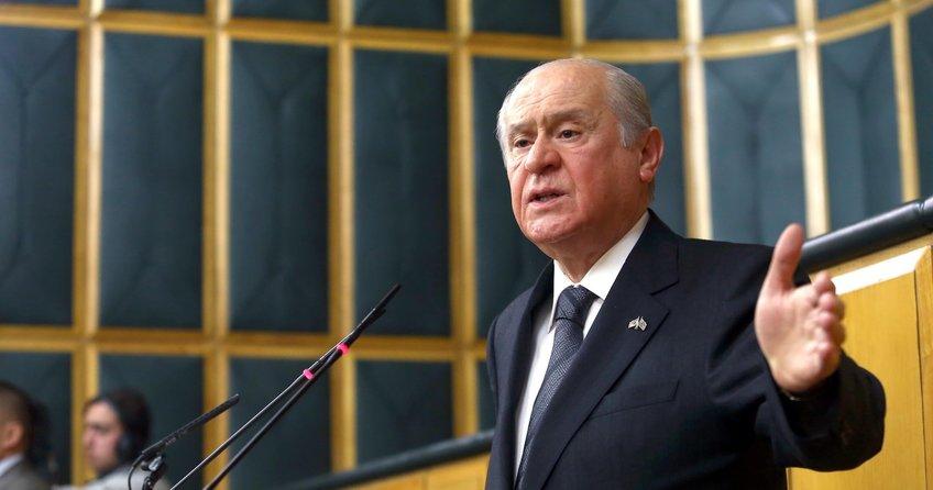 MHP Lideri Devlet Bahçeli'den grup toplantısında Kılıçdaroğlu'na sert tepki