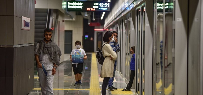 ISTANBUL'S NEW METRO LINE OPENS, FREE OF CHARGE FOR 10 DAYS