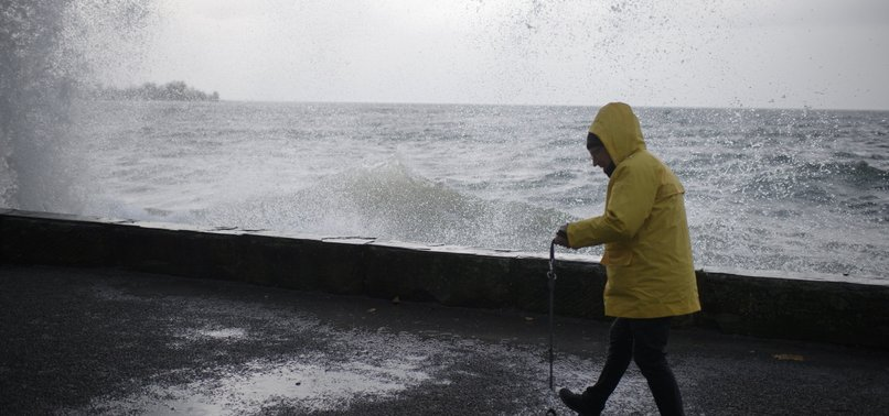 WINTER STORM HITS FRANCE WITH STRONG GUSTS, HEAVY RAIN