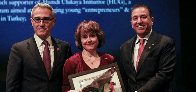 TURKISH ACADEMIC HONORED BY NEW YORK DIPLOMATS