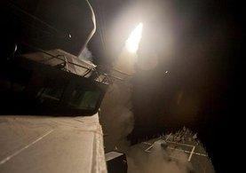 ABD Suriye rejimini 50 Tomahawk füzesiyle vurdu